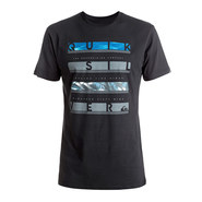 T-SHIRT QUIKSILVER CLASSIC READ BETWEEN NOIR