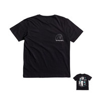 T SHIRT QUIKSILVER CLASSIC VENICE BLISS JUNIOR NOIR