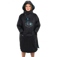 PONCHO ALL IN STORM COUPE VENT BLEU JUNIOR