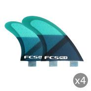 DERIVES FCS PC-5 BLUE SLICE SET DE 4