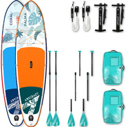 PACK SUP GONFLABLE ABSTRACT PALMA 10.0 + CORAL 10.6 2019