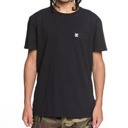 T-SHIRT DC SHOES DYED NOIR
