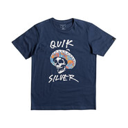 T SHIRT QUIKSILVER CLASSIC EL BRONCO JUNIOR NAVY