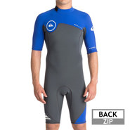 SHORTY QUIKSILVER SYNCRO 2MM 2018 BLEU