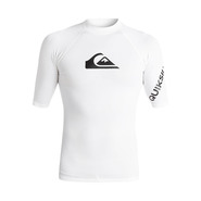 LYCRA QUIKSILVER ALL TIME SS BLANC