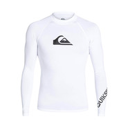LYCRA QUIKSILVER ALL TIME LS BLANC