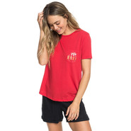 T-SHIRT ROXY DARLIN BREAK FEMME ROUGE