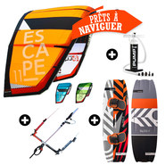 PACK KITESURF PETER LYNN ESCAPE V6 + BLISS V4 2017