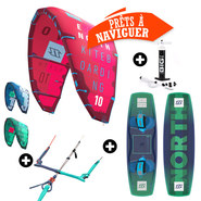 PACK KITESURF NORTH EVO + X-RIDE 2017
