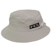 CHAPEAU FCS ESSENTIAL SURF BUCKET HAT GRIS