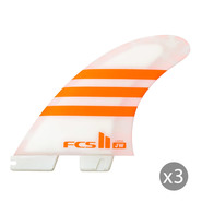 DERIVES FCS II JULIAN WILSON PC ORANGE/BLANC SET DE 3