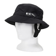 CHAPEAU FCS ESSENTIAL SURF BUCKET HAT NOIR