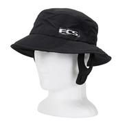 CHAPEAU FCS ESSENTIAL SURF BUCKET HAT NOIR