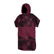 PONCHO MYSTIC ALLOVER OXBLOOD ROUGE