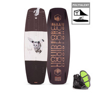 PACK WAKEBOARD LIQUID FORCE 2020 FLX + INDEX