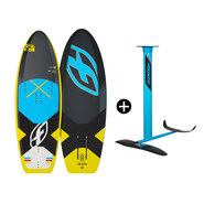 PACK DE KITEFOIL PLANCHE F-ONE 51 TS + FOIL FREERIDE IC6 V2
