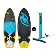 PACK PLANCHE F-ONE 51 TS + FOIL FREERIDE IC6 V2