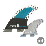 DERIVES FCS II PERFORMER PC CARBON MEDIUM SET DE 4