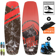 PACK WAKEBOARD LIQUID FORCE FLX + INDEX 2017