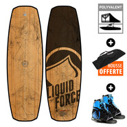 PACK WAKEBOARD LIQUID FORCE FLX LTD + INDEX 2017