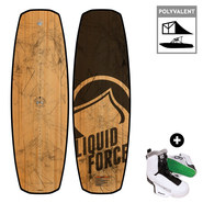 PACK WAKEBOARD LIQUID FORCE FLX LTD + TAO 2017