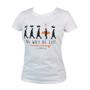 T-SHIRT THE WAY OF LIFE FEMME BLANC