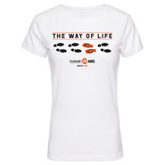 T-SHIRT THE WAY OF LIFE COLLECTOR 20 ANS FEMME