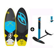 PACK DE KITEFOIL PLANCHE F-ONE 51 TS + FOIL FREERIDE IC6 V1