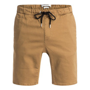 SHORT QUIKSILVER FONIC MARRON
