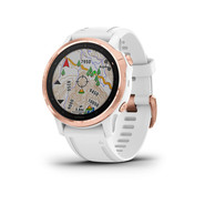MONTRE GARMIN FENIX 6S PRO ROSE GOLD/BLANC