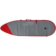 HOUSSE HOWZIT SURF SHORTBOARD GRIS/ROUGE