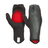 MOUFLES ION OPEN PALM MITTENS 2.5 NOIR