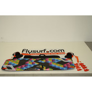 PLANCHE DE KITESURF OCCASION NOBILE 2014 SPLITBOARD FLYING CARPET 160X46 COMPLETE