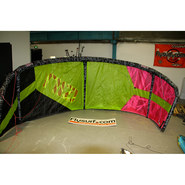 AILE DE KITESURF OCCASION GIN 2015 CANNIBAL 9M COMPLETE