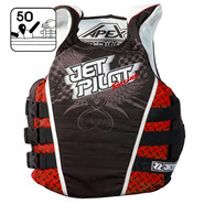 GILET JET PILOT APEX RACE NYLON ROUGE