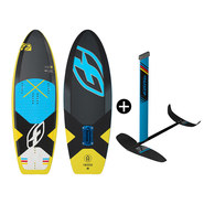 PACK PLANCHE F-ONE 51 TS + FOIL FREERIDE IC6 V1 2018