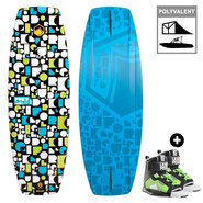 PACK WAKEBOARD JUNIOR LIQUID FORCE FURY GRIND + RANT 2017