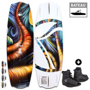 PACK WAKEBOARD LIQUID FORCE TRIP + RONIX DIVIDE 2017