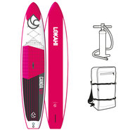 SUP GONFLABLE LOKAHI WE CANOA AIR 12.6 ROSE 2018
