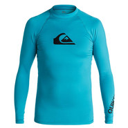 LYCRA QUIKSILVER ALL TIME BOYS LS BLEU