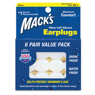 BOUCHON D OREILLE MACKS PILLOW SOFT SILICONE EAR PLUGS