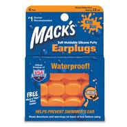 BOUCHON D OREILLE MACKS SILICONE EAR PLUGS ENFANTS