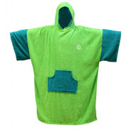 PONCHO MADNESS LIME/TEAL