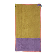 SERVIETTE ALL IN ORGANIC TOWEL MAUVE/MELON