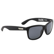LUNETTES MUNDAKA DUDE BLACK MAT SMOKE POLARIZED