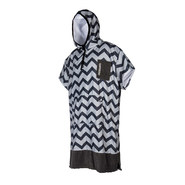 PONCHO MYSTIC ALLOVER GRIS CLAIR