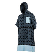 PONCHO MYSTIC ALLOVER PEWTER