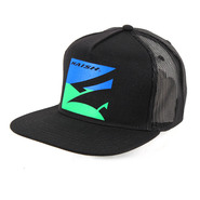 CASQUETTE NAISH TRUCKER MESH BLACK/BLUE/GREEN