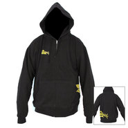 SWEAT NAISH DIAMOND ZIPPER HOODIE NOIR