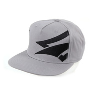 CASQUETTE NAISH EMBROIDERY GREY/BLACK